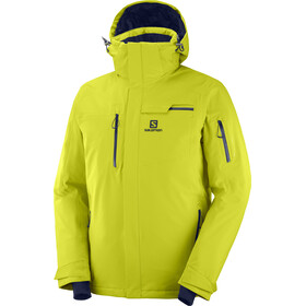 Salomon Brilliant Jacke Herren citronell